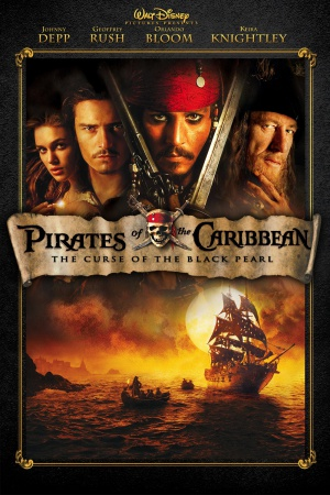 Pirates of the Caribbean: The Curse of the Black Pearl 1000x1500