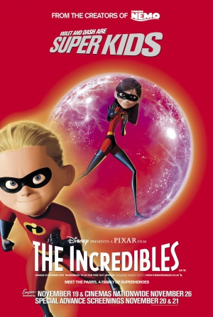 The Incredibles 1582x2355