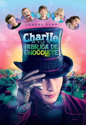 Charlie and the Chocolate Factory 500x725