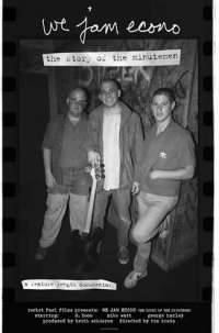 We Jam Econo: The Story of the Minutemen poster