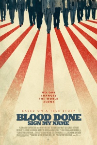 Blood Done Sign My Name poster