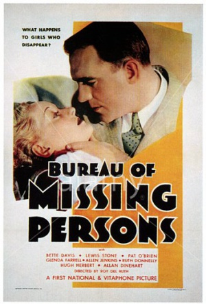 Bureau of Missing Persons 351x518
