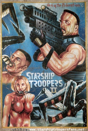 Starship Troopers 2: Hero of the Federation 629x933