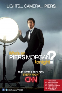 Piers Morgan Tonight poster