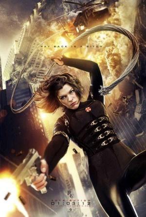 Resident Evil: Retribution 656x972