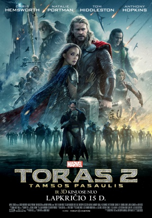 Thor: The Dark World 2646x3780