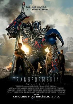 Transformers: La era de la extinción 2646x3780