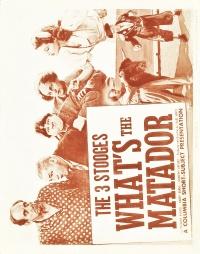 What's the Matador? poster