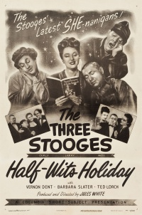 Half-Wits Holiday poster