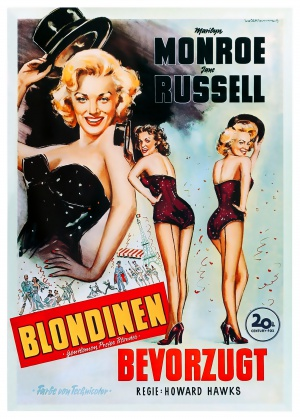 Gentlemen Prefer Blondes 2575x3600