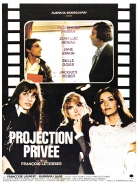 Projection privée poster