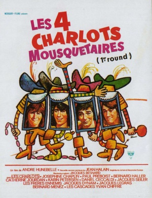 Les quatre Charlots mousquetaires 1156x1504