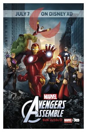 Avengers Assemble 1944x2952