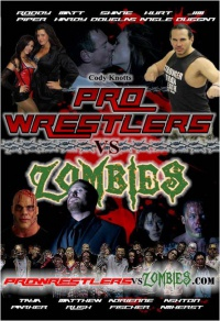 Pro Wrestlers vs Zombies poster