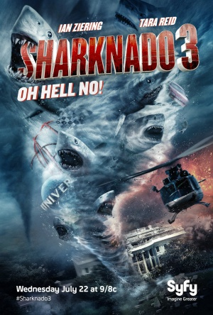 Sharknado 3: Oh Hell No! 1215x1800