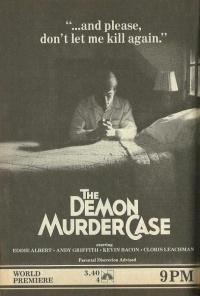 The Demon Murder Case poster