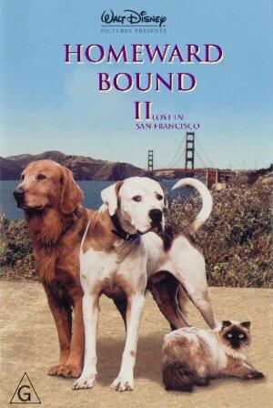 Homeward Bound II: Lost in San Francisco 300x448