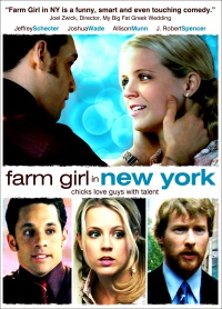 Farm Girl in New York poster