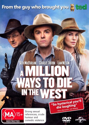A Million Ways to Die in the West 1508x2125