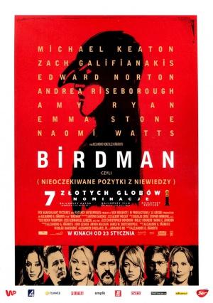 Birdman oder (Die unverhoffte Macht der Ahnungslosigkeit) 705x1000