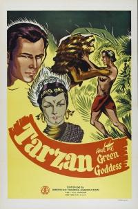 Tarzan and the Green Goddess poster