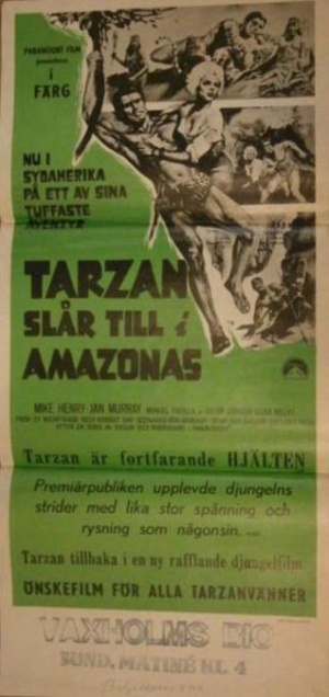Tarzan and the Great River 318x674