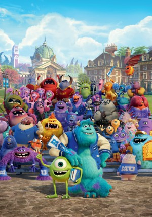 Monsters University 3500x5000