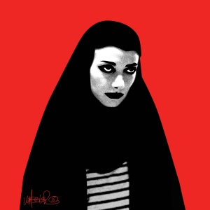 A Girl Walks Home Alone at Night 1200x1200