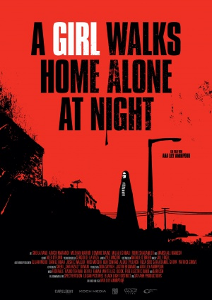 A Girl Walks Home Alone at Night 3531x4990