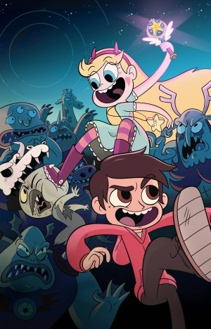 Star vs. the Forces of Evil 3205x5000