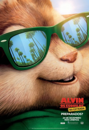 Alvin and the Chipmunks: The Road Chip 1394x2048