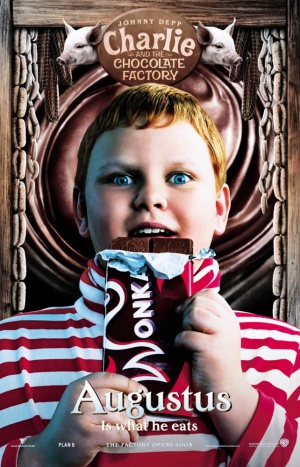 Charlie and the Chocolate Factory 642x1000