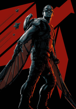 Captain America: The Winter Soldier 5261x7500
