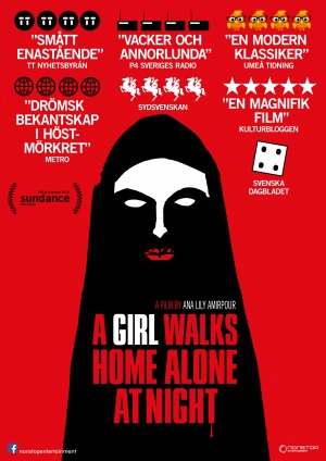 A Girl Walks Home Alone at Night 2480x3508