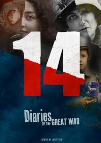 14 Tagebücher des Ersten Weltkriegs poster