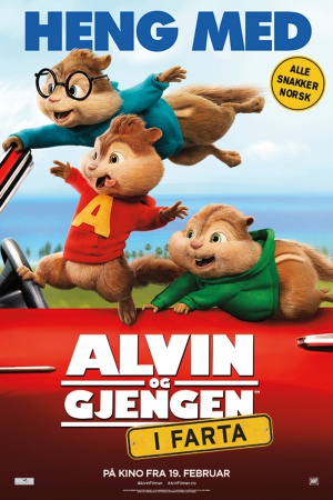Alvin and the Chipmunks: The Road Chip 1000x1500