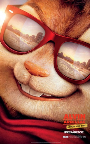 Alvin and the Chipmunks: The Road Chip 1280x2048