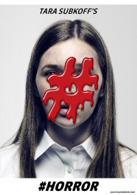 #Horror poster