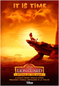 The Lion Guard: Return of the Roar poster