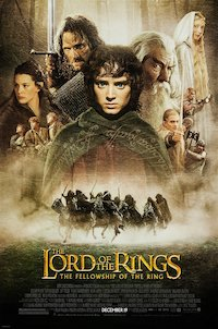 The Lord of the Rings: The Fellowship of the Ring: The Motion Picture poster