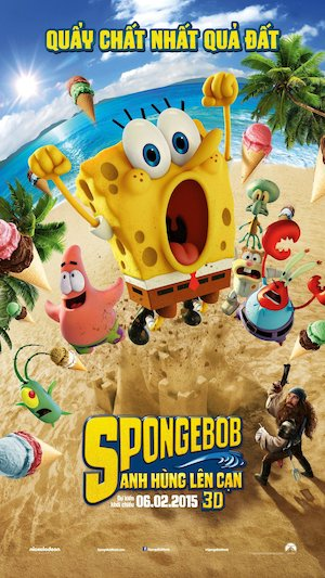 The SpongeBob Movie: Sponge Out of Water 1080x1920