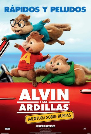 Alvin and the Chipmunks: The Road Chip 1383x2048