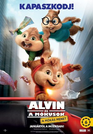 Alvin and the Chipmunks: The Road Chip 750x1083