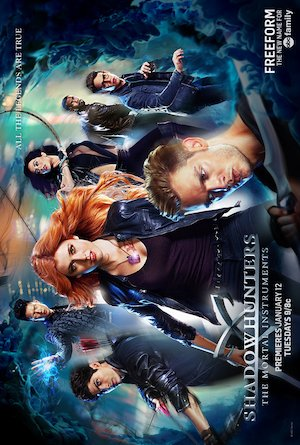 Shadowhunters: The Mortal Instruments 691x1024