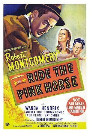 Ride the Pink Horse 1000x1481