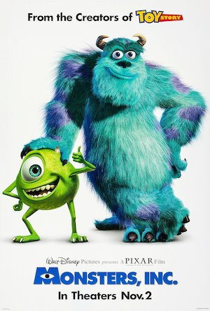 Monsters, Inc. 2008x2969