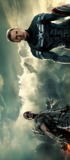 Captain America: The Winter Soldier 2201x5000