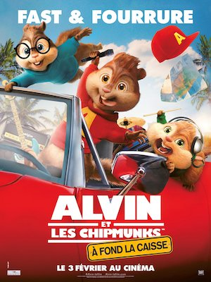 Alvin and the Chipmunks: The Road Chip 1125x1500