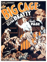 The Big Cage poster