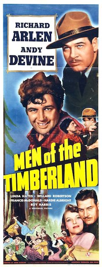 Men of the Timberland poster